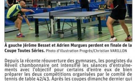 Le Réveil chambonnaire présent aux Championnats Loire Haute-Loire