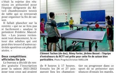 Le Réveil Chambonnaire accueille la Coupe Loire Haute-Loire