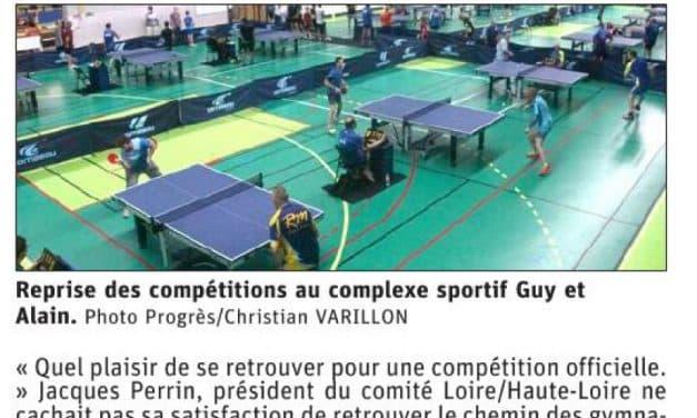 Succès au Chambon-Feugerolles avec la Coupe Loire Haute-Loire